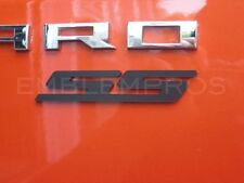 "GM LICENSED, 2010+ Camaro ""SS"" Emblem Badge w Choice of Color Composite"