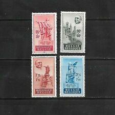 Belgium 1948 Sc B455-58 Semi Postal Mint