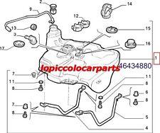 46434880 Serbatoio Combustibile Fiat Coupè 2000 20v Turbo dal 1996 al 2000 Orig