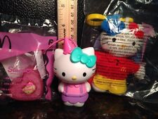 HELLO KITTY MCDONALDS TOYS CREW KID NEW LIGHT UP NECKLACE ORNAMENT FREE SHIPPING