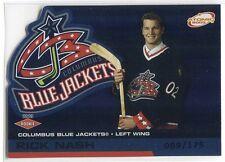 2002-03 Atomic Blue 105 Rick Nash Rookie 89/175