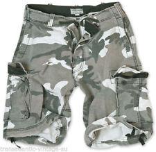 Hosengröße W32 Camouflage Herren-Cargo-Shorts