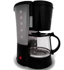 SUPER CM4166 Kaffeeautomat Glaskanne Kaffeemaschine 800W 1,25L 10 Tassen Schwarz