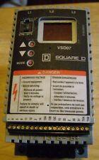 Square D Ac Drive Vsd07 U29 N40 2hp