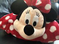Minnie Mouse Pillow Pet Disney Parks Authentic Plush 20x20