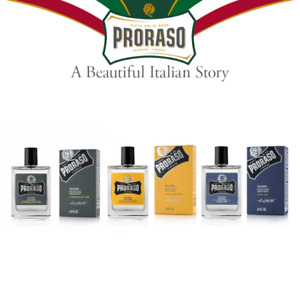 Proraso Cologne 100 ml, Wood & Spice, Azur Lime, Cypress & Vetyver