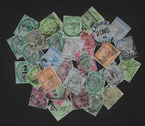 INDIA interesting lot of used QV issues unchecked (30)