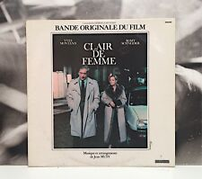 JEAN MUSY - CLAIR DE FEMME - SOUNDTRACK OST LP EX-/EX FRANCE 1979 RIVIERA LM