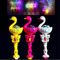 Flashing Swan LED Light Up Toys Kids Birthday Party Favor Luminous Gift Toys UK