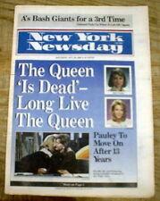 1989 display newspaper JANE PAULEY retires  DEBORAH NORVILLE New Host TODAY SHOW
