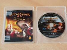 Dios De La Guerra Colección Volumen II 2 PS3 Playstation 3 (sin Tapa) ** Free UK Post **
