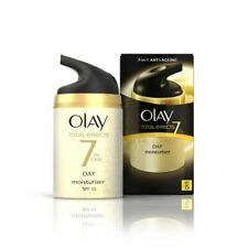 OLAY TOTAL EFFECTS 7 IN 1 ANTI AGEING DAY MOISTURISER WITH SPF 15 50ML