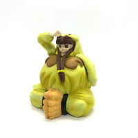 Vampire Savior SASQUATCH Yellow Mini Figure Capcom Collection Anime Game