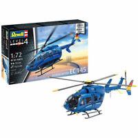 REVELL 03877 Eurocopter EC 145 Builders Choice 1:72 Plastic Model Helicopter Kit