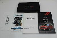 15 Dodge Journey Vehicle Owners Manual Handbook Guide Set