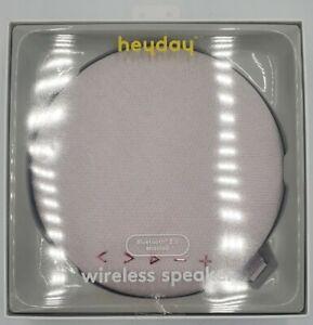 Heyday Round Bluetooth Speaker - Ballet Pink