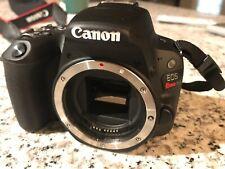 Canon EOS Rebel SL2 24.2 MP Digital SLR Camera - Black (body only) original box