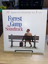 FORREST GUMP 3 Lp Movie Soundtrack Record Numbered Red White Blue First Press