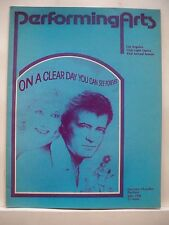 ON A CLEAR DAY Large Program ROBERT GOULET / JOANNA GLEASON LA 1980