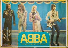 ABBA - ultra rare Movie Poster from East Germany!
