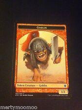 Card MTG x 1 - GOBLIN TOKEN - Khans of Tarkir 1st Class Post gw -BUY 3 SAVE 25%