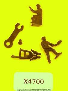 hornby oo spares x4700 1x accessory pack for king class loco(figures/couplings)