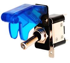 Kfz - Schalter Kill - Switch mit Schutzkappe und LED 12V/35A blau