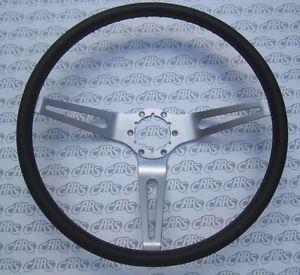 1969-1975 GM Buick Olds Chevelle GTO Corvette Black 3 Spoke Sport Steering Wheel