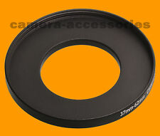 37mm to 62mm 37-62 Stepping Step Up Filter Ring Adapter 37-62mm 37mm-62mm (UK)