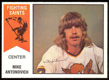 1974 75 OPC O PEE CHEE WHA #37 MIKE ANTONOVICH NM MINNESOTA FIGHTING SAINTS CARD