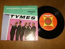 THE TYMES - WONDERFUL - COME WITH ME TO THE SEA  - 45 PS  / LISTEN / DOO WOP