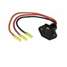 Sierra Female Trolling Motor Socket 24 volt With 3 Wire WH10490 MD