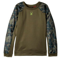 Spyder Kids Hybrid Pullover Top Sweatshirt Sweater, Size S (8 Boys) NWT