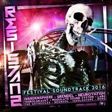 RESISTANZ Festival 2016 CD Digipack LTD.250 CYFERDYNE Neuroticfish TERROLOKAUST