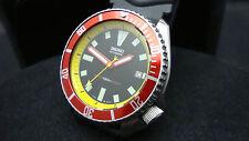 Vintage Seiko Buzos 7002 Auto Mega Mod EMS 150m Reloj J26.