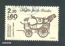 French Postage - Malle-Poste Briska Stamp 2,20+0,60 La Poste France 1986 Postage