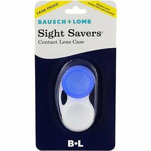 Sight Savers Contact Lens Case (Blue)