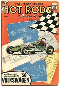 HOT RODS & RACING CARS #37-1958-VOLKSWAGEN-MEXICAN ROAD RACE-RARE