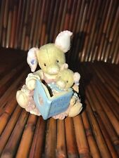 "This Little Piggy by Enesco ""This Little Piggy"" Figurine Reading Book 1994 Euc"