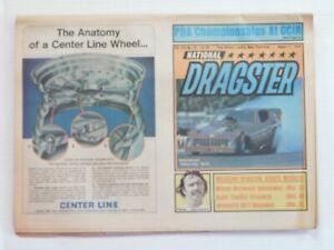 National Dragster Vol. XIX No. 20 Aug. 11, 1978 No Address Label Very Good Condi