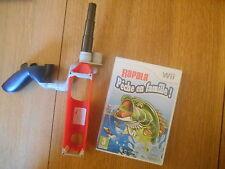 Rapala Pêche en Famille ! + Canne à pêche / Jeu Wii / Complet