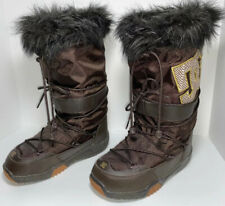 DC SNOW BOOTS Womens Size 7 Brown Winter Chalet Mid Calf Ski