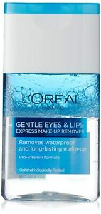 Lip and Eye Make-Up Remover Dermo Expertise From L'Oreal Paris, 125ml - FShip