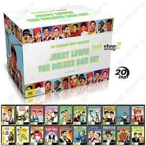 Jerry Lewis Deluxe DVD Boxset :  20 Film Collection : Brand New
