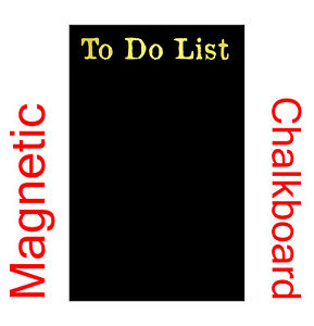 Personalised Fridge Magnet Chalkboard Magnetic Blackboard To Do List Chalk Board