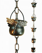 GetSet2Save Decorative Iron Dragonfly Rain Chain