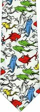 DR. SEUSS ONE FISH TWO FISH REVERSIBLE TWO TIES IN ONE NEW NOVELTY TIES