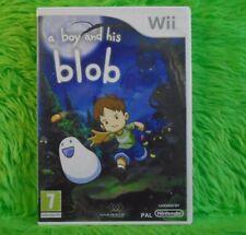 * WII BOY Y Su Blob un (ni) historia de amistad AVENTURA PAL VERSION UK