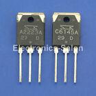 1x 2SA2223A & 1x 2SC6145A Original SANKEN Audio High Power Transistor.