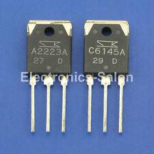1pcs 2SA2223A & 1pcs 2SC6145A Original SANKEN Audio High Power Transistor.